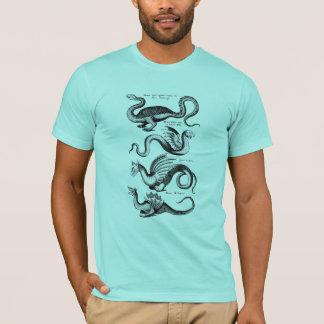 神話からの4つのドラゴン Tシャツ