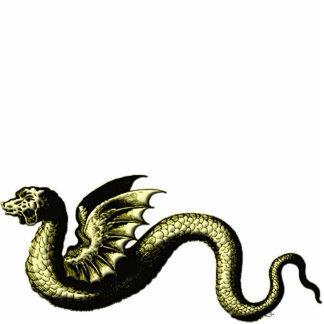神話上創造物のヘビ フォトスカルプチャー