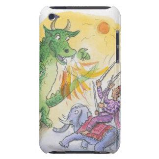 神話的な火の呼吸のドラゴンの漫画 Case-Mate iPod TOUCH ケース
