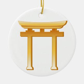 神道の記号 セラミックオーナメント