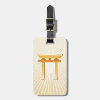 神道の記号 ラゲッジタグ