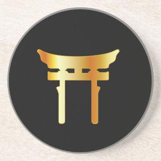 神道のToriiのゲートのShintoism コースター
