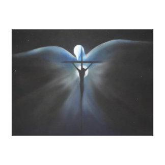 神霊のキリストのはりつけ キャンバスプリント
