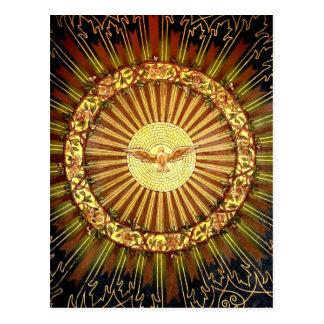 神霊の絵画 ポストカード