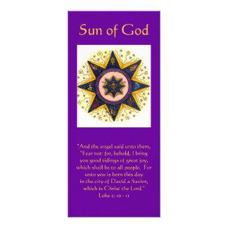 """神001の日曜日、""""および天使はそれらに、…言いました ラックカード"""