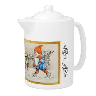 神1 7月-スウェーデンの茶ポット