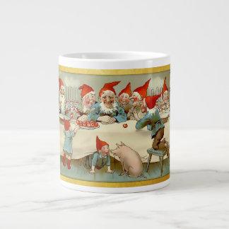 神1 7月-スウェーデンの郵便はがき ジャンボコーヒーマグカップ