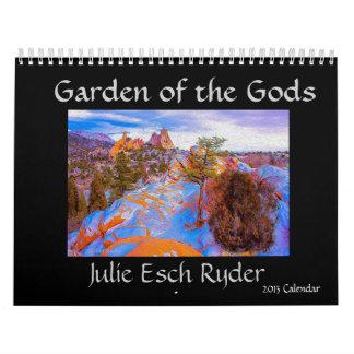 神2013のカレンダーの庭 カレンダー