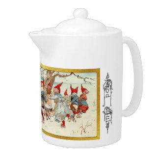 神3 7月-スウェーデンの茶ポット