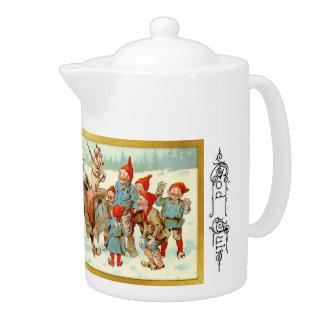 神4 7月-スウェーデンの茶ポット