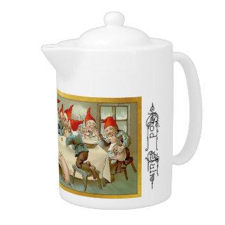 神5 7月-スウェーデンの茶ポット