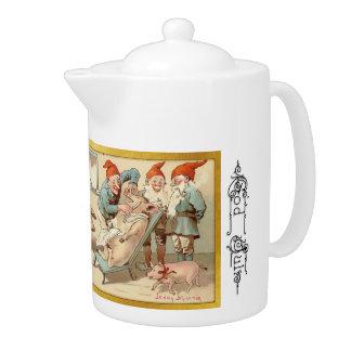神6 7月-スウェーデンの茶ポット