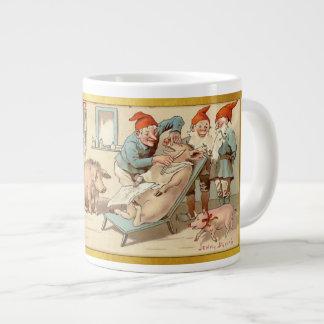 神7 7月-スウェーデンの郵便はがき ジャンボコーヒーマグカップ