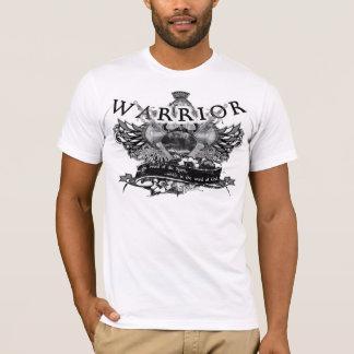 神-カスタマイズ白の戦士 Tシャツ
