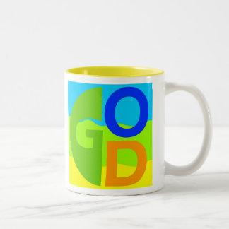 神 ツートーンマグカップ