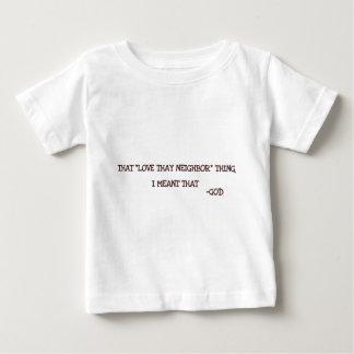 神 ベビーTシャツ