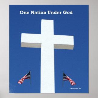 神、ポスターの下の1つの国家 ポスター