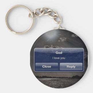 神: 私は愛します キーホルダー