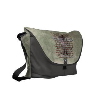 神、Ephesiansの6:10 - 18のキリスト教の兵士の装甲 メッセンジャーバッグ