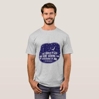 神- GK Chestertonの男性Tシャツの謎 Tシャツ