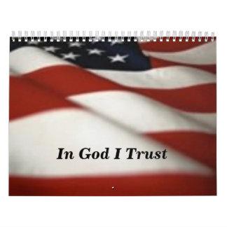 神Iの信頼のflag1-1、 カレンダー