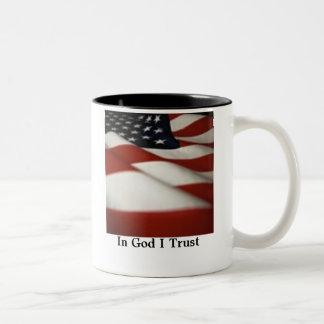 神Iの信頼のflag1-1、 ツートーンマグカップ