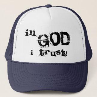 神Iの信頼 キャップ