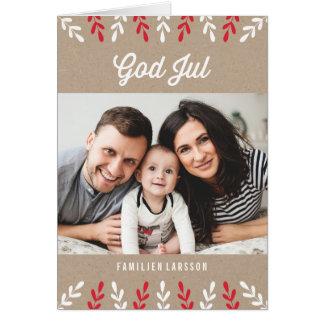 神Julkort 7月|日 カード