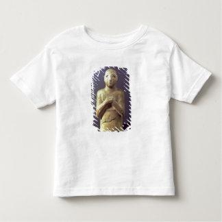 神Utu、メソポタミア、紀元前のc.2400の彫像(リチウム トドラーTシャツ