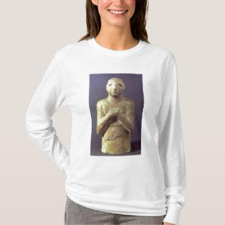 神Utu、メソポタミア、紀元前のc.2400の彫像(リチウム Tシャツ