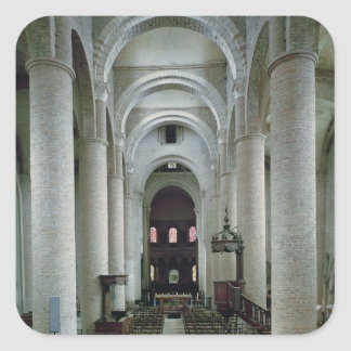 祭壇の方に見るネーブの眺め スクエアシール