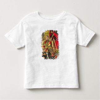 祭壇の背後の飾りの提供者の描写、マイケルde トドラーTシャツ