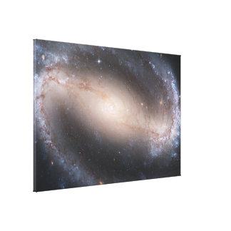 禁止された渦状銀河NGC 1300年 キャンバスプリント