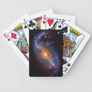 禁止された渦状銀河NGC 1672年 バイスクルトランプ