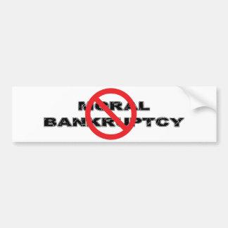 禁止の道徳の破綻 バンパーステッカー