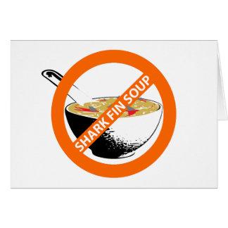 禁止の鮫のひれスープ カード