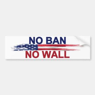 禁止無し壁無し バンパーステッカー