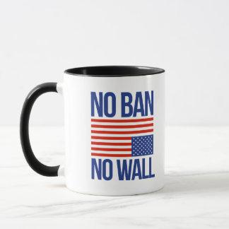 禁止無し壁無し- マグカップ
