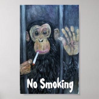禁煙猿 ポスター