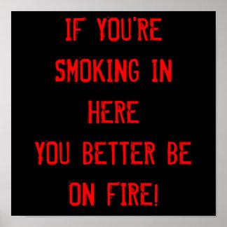 禁煙 ポスター