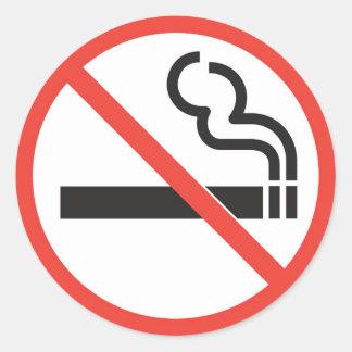 禁煙 ラウンドシール