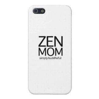 禅のお母さん iPhone 5 カバー