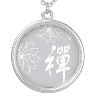 禅のネックレス シルバープレートネックレス