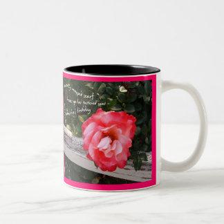 禅のマグ(俳句シリーズ-祖母の誕生日) ツートーンマグカップ