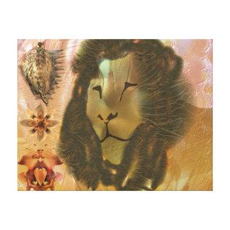 禅のライオン キャンバスプリント