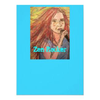 禅のロッカーの女の子 カード