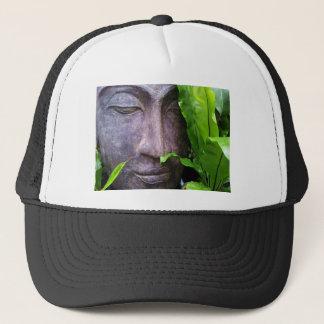 禅の仏の平静の白黒の帽子 キャップ