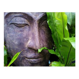 禅の仏の平静の郵便はがき ポストカード