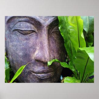 禅の仏の平静ポスター ポスター