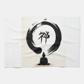 禅の仏タオル キッチンタオル